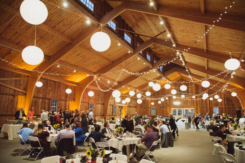 bistro lighting and paper lanterns at gcv m mccarthy tents