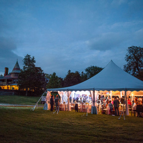 40 x 80 Pole Tent Rental in Rochester, NY