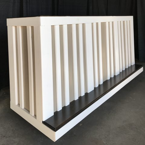 8′ Two Tone Bar Rental in Rochester, NY