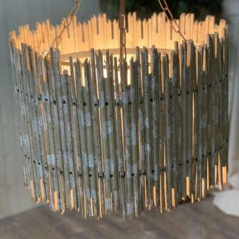 Birch Wood Chandelier Rental in Rochester, NY