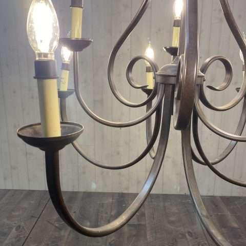 Rustic Bronze Chandelier Rental in Rochester, NY
