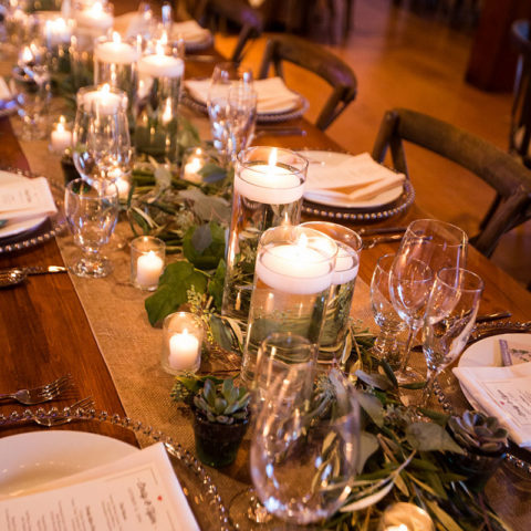 Glass Beaded Charger Plate Rental in Rochester, NY