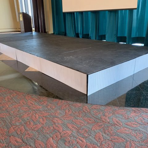 Wooden Stage Surround Rental in Rochester, NY