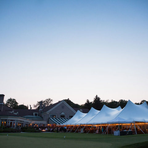 60 x 130 Pole Tent Rental in Rochester, NY