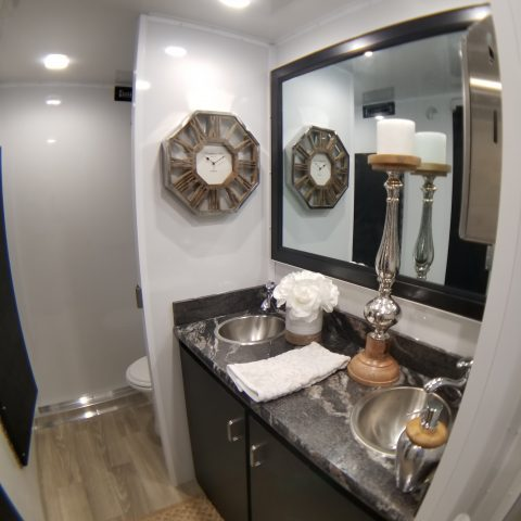 Luxury Mobile Restroom Trailer Rental in Rochester, NY