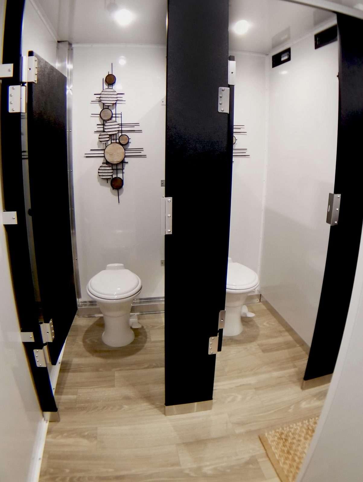 Luxury Mobile Restroom Trailer