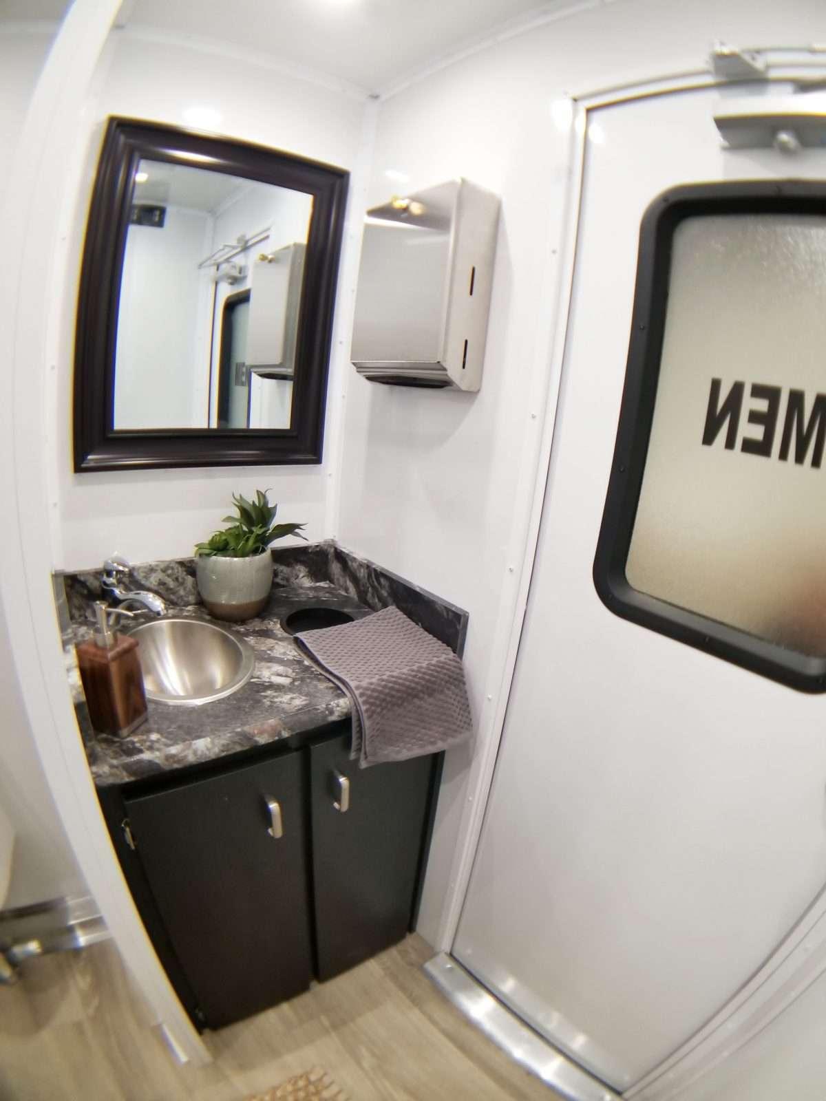 Luxury Mobile Restroom Trailer Rental - Rochester, NY