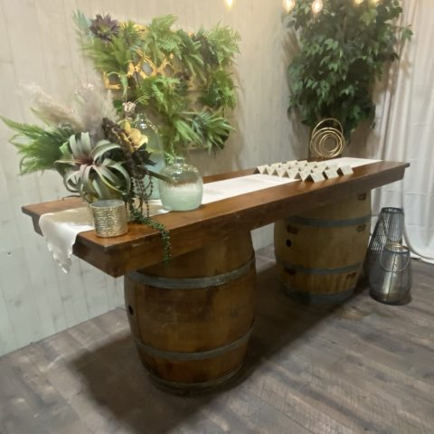 Rustic Plank Table Rental in Rochester, NY
