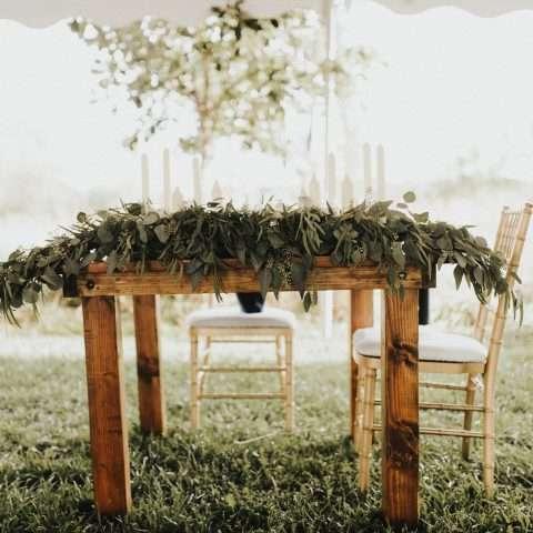Sweetheart Farm Table Rental in Rochester, NY