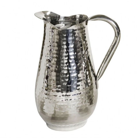 Hammered Water Pitcher (85 oz.) Rental in Rochester, NY