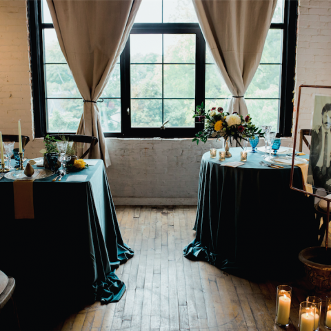 Solid Polyester Linens Rental in Rochester, NY