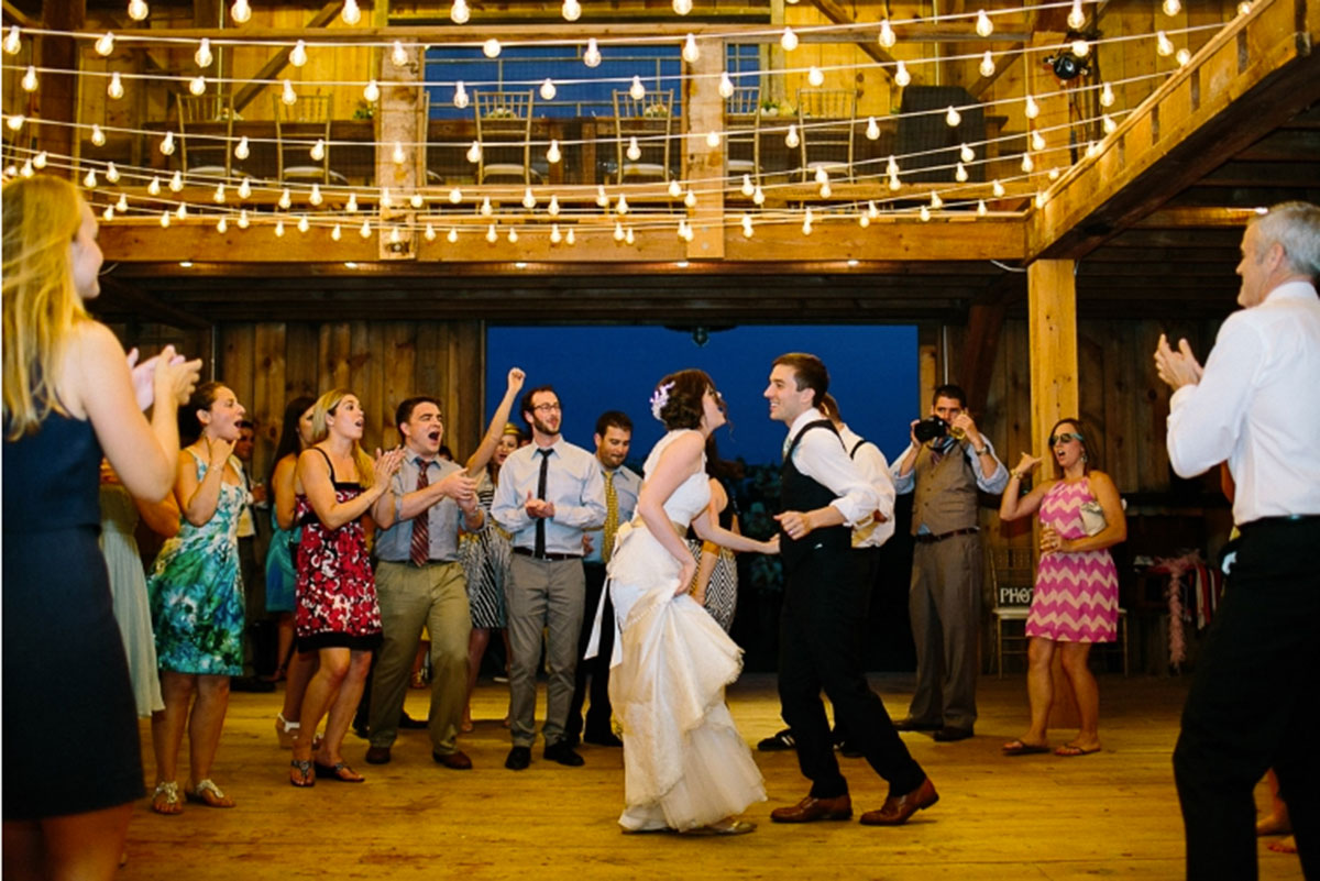 Barn Wedding Bliss