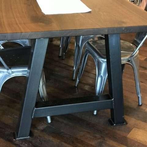 Black Walnut Live Edge Table Rental in Rochester, NY