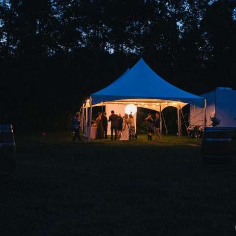 20 x 40 Premium High Peak Frame Tent Rental in Rochester, NY