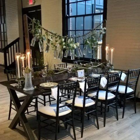 Black Chiavari w/ Pad Rental in Rochester, NY