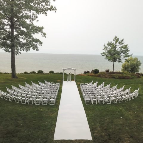 White Padded Rental in Rochester, NY