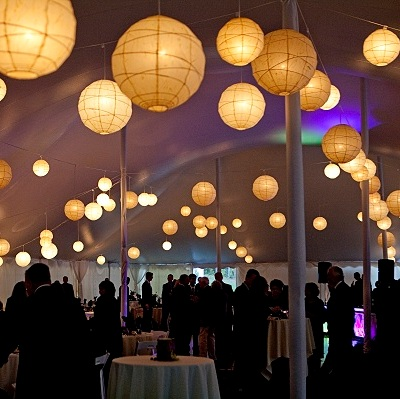 Paper Lanterns Rental Mccarthy Tents Amp Events Party